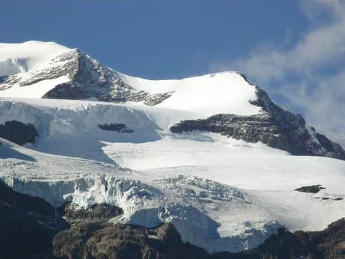 il Castore (4228 m.) e la...