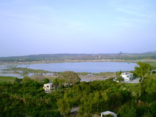 Kalarkahar Lake, Pakistan