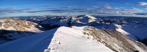 A winter\'s summit
