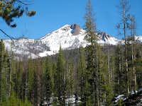 Unknown peak on Loon Creek