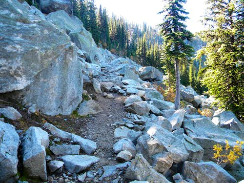 Trail Through the Granite