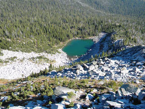 Above Lower Ball Lake