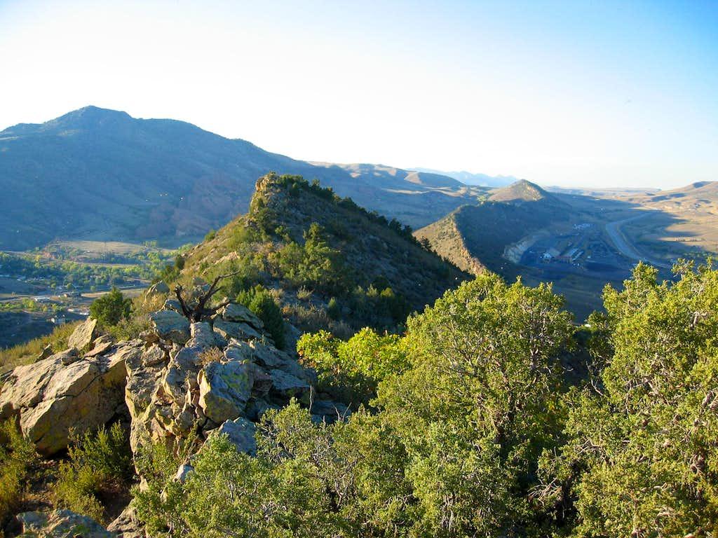 Dinosaur Ridge from Mt Glennon