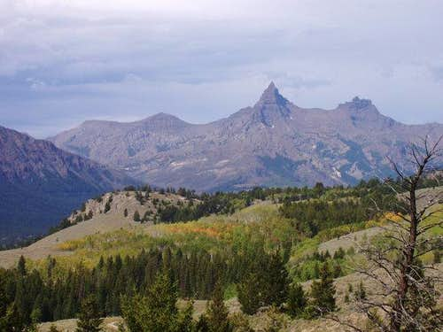 Pilot Peak from the southeast...