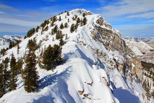Honeycomb Cliffs north summit.