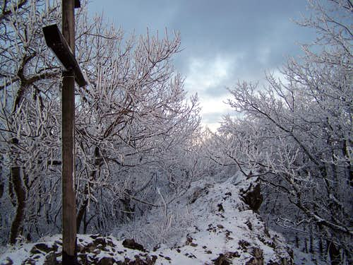 Záruby / Burián-hegy