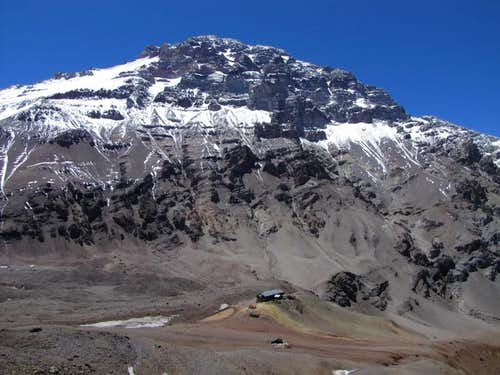 Aconcagua and the hotel