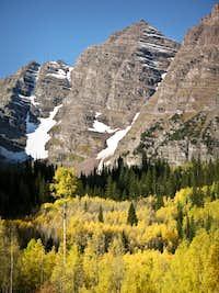 Maroon Peak in September