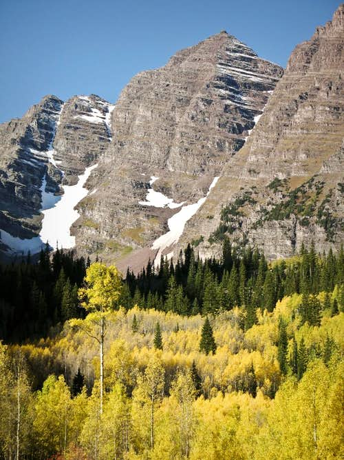 Maroon Peak in September