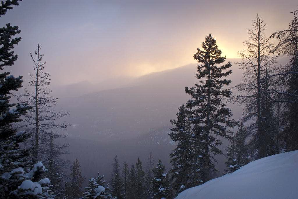 Winter Storm Sunrise