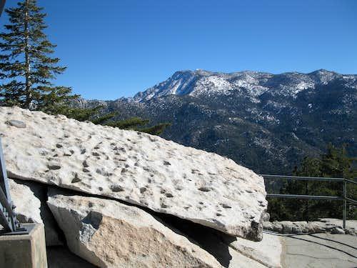 San Jacinto from Black Mountain