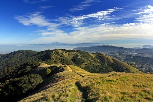 SF North Bay from Big Rock Ridge