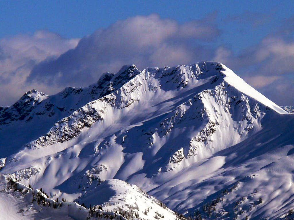 Indian Head Peak in Winter
