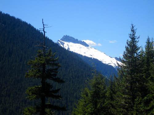 Looking towards Sloan Peak