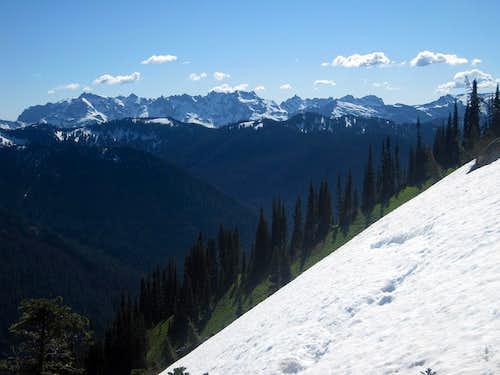 The Monte Cristo Peaks