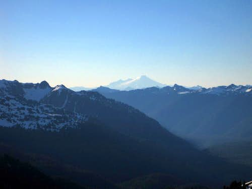 Looking towards Mount Baker