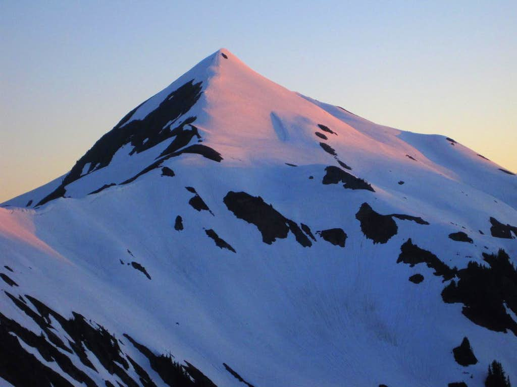 Evening Color on White Mountain