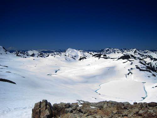 Looking towards White Mountain