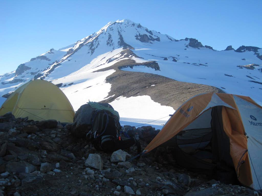 Glacier Peak with the Tents