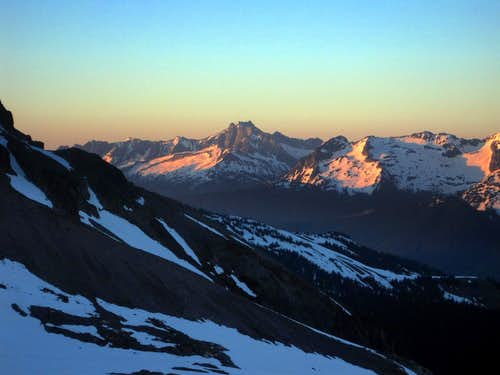 Bonanza Peak during Sunset