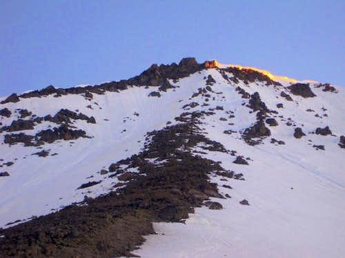Sun Colors on Dissapointment Peak