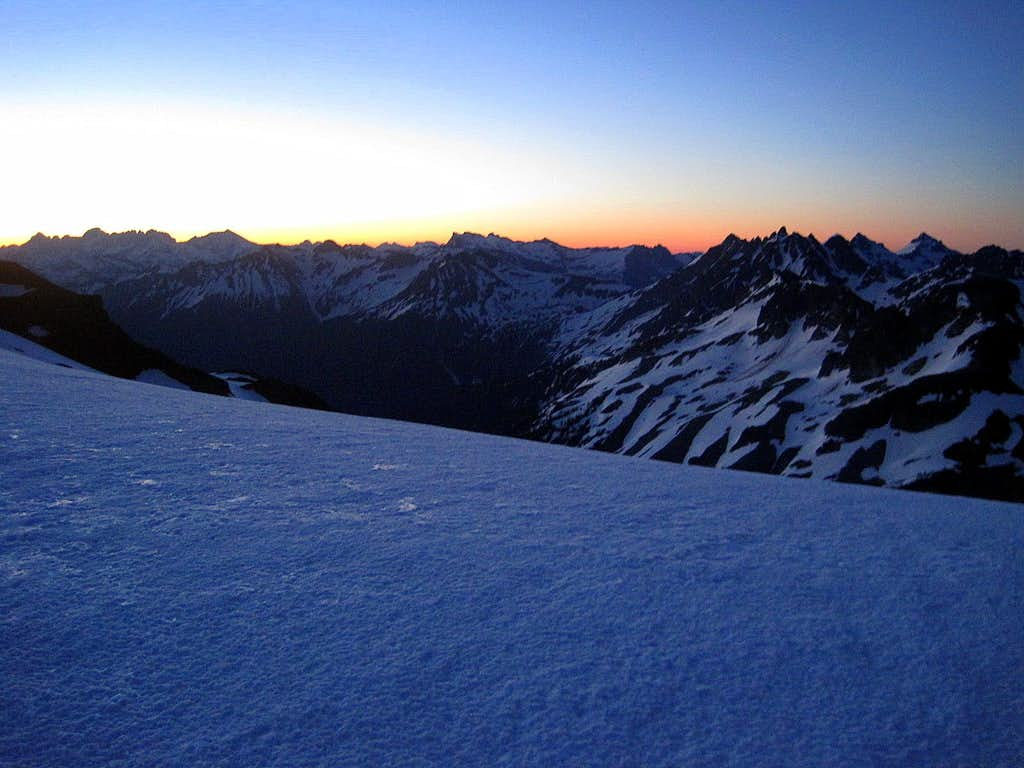 Morning View from Glacier Peak