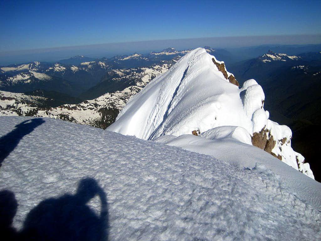 The False Summit of Glacier Peak
