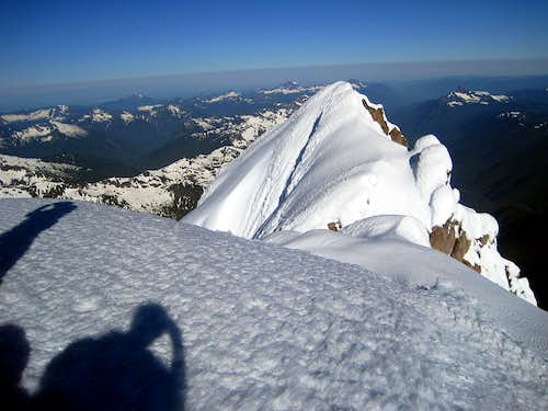The False Summit of Glacier Peak