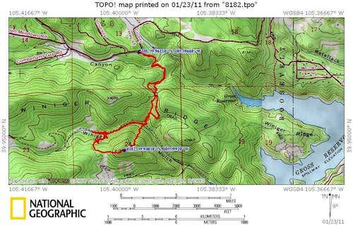 UN 8182, Boulder Soft Ranked Peak