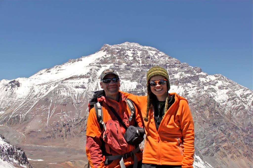 Aconcagua in the background
