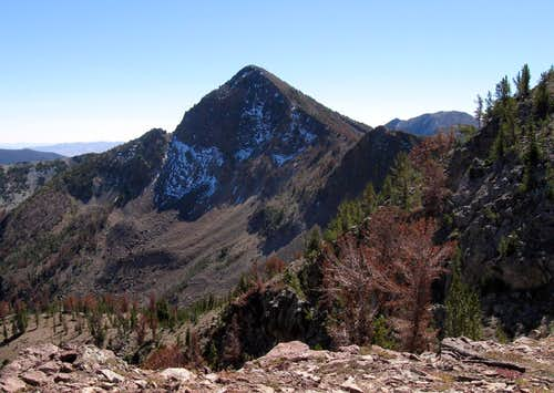 Nearby Cougar Peak