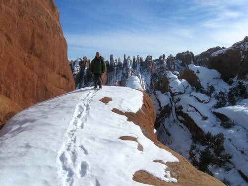 Winter in Arches