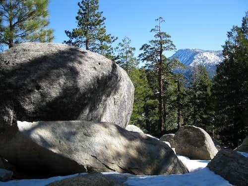 Boulders on Black Mountain