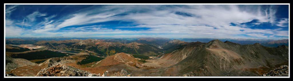 Pacific Peak Summit View