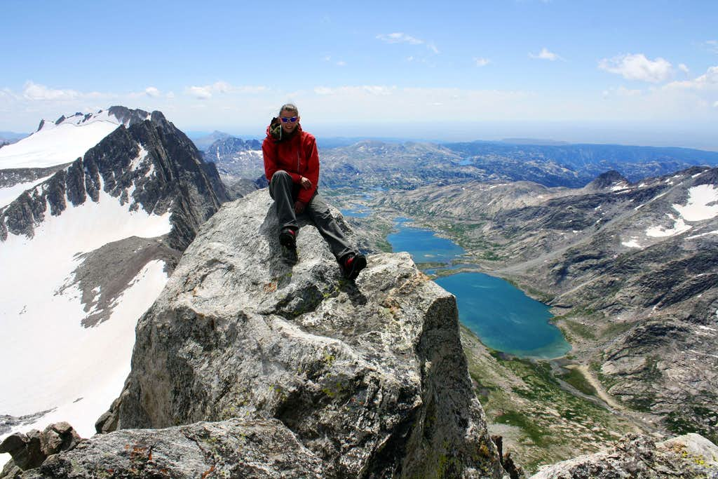 On top of Mount Helen