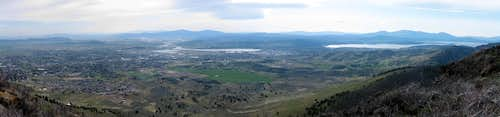 Klamath Falls from Hogback Mountain