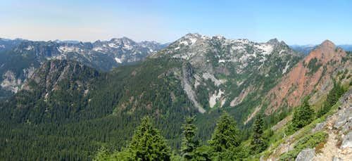 Kendall Peak Looking West