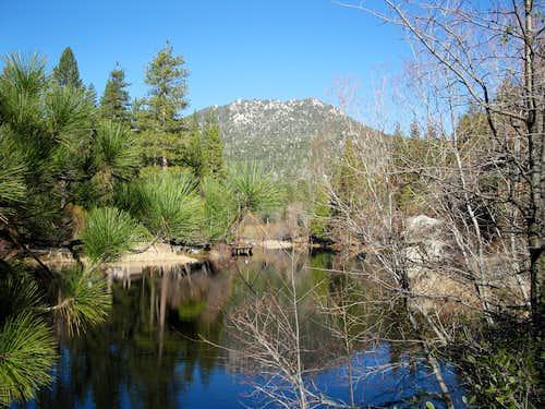Fulmor Lake and Black Mountain