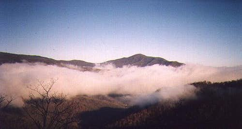 Cold Mountain as viewed from...
