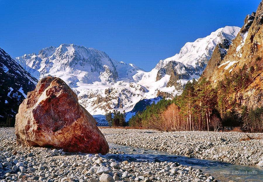 Caucasus Morning view...