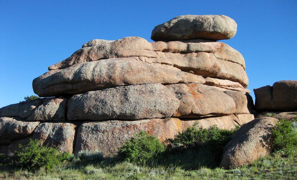 granite outcrop   photos  diagrams  u0026 topos   summitpost
