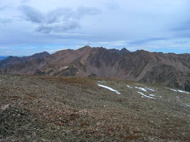 The Gore Range summits of...