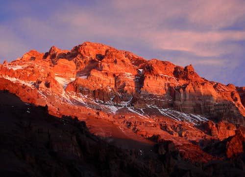 Alpenglow Aconcagua