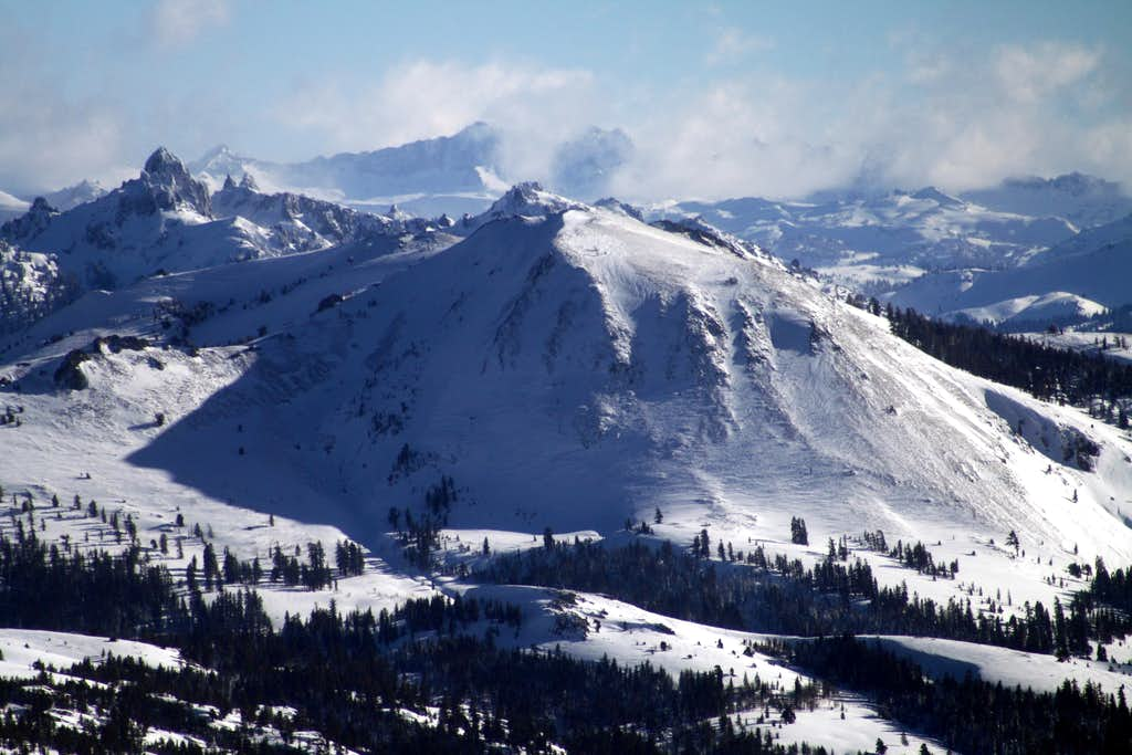 A Wintery Scene from Waterhouse Peak