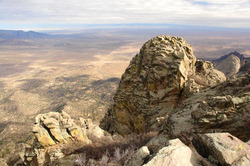 Organ Needle: the east summit