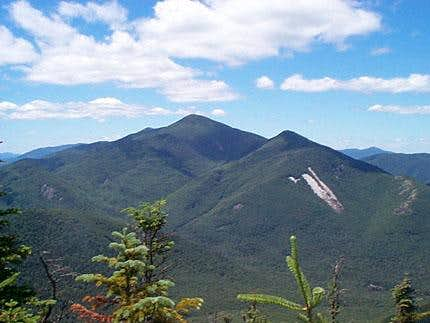 Algonguin Peak (left) and...