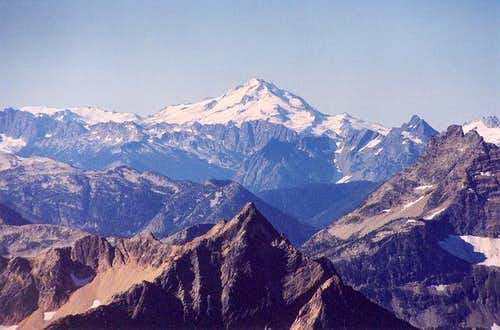 Glacier Peak from the NNE...