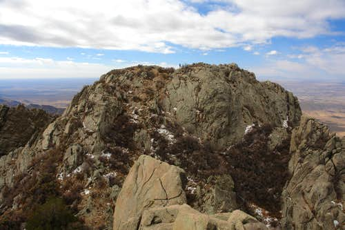 The main summit of Organ Needle