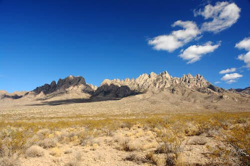 Shadows on Organ Mountains