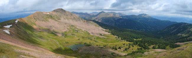 The southern Gore Range from...